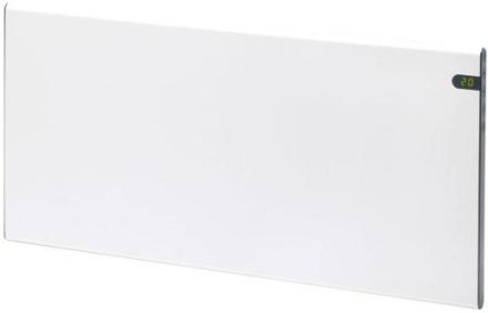 Glamox H30 El-radiator med termostat 1000W/230V, Hvit - 15 m²