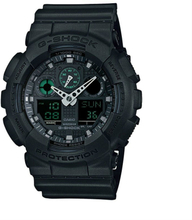 Casio G-SHOCK Standard Analog-Digitaluhr GA-100MB-1A - Schwarz