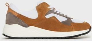 Bianco BIADAKOTA Suede Sneaker Sneakers Brun
