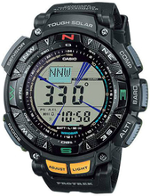 Casio PRO TREK TOUGH Sonnenuhr PRG-240-1 - Schwarz