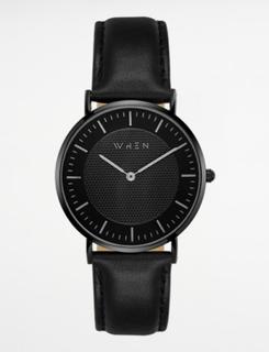 When watches, PHOENIX, Sort, Ure/Smykker till Unisex, One size