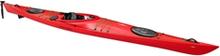 Point 65 Seacruiser Rudder & Skeg Red