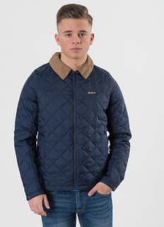 Barbour, BARBOUR HELM JACKET, Blå, Jakker/Fleece/Veste till Dreng, XL