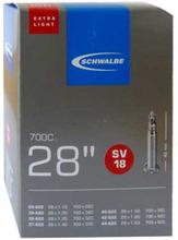"""SCHWALBE No. 18 Tube 28"""" Extra Light SV 40mm 2020 Slangar"""