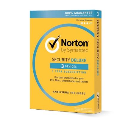 Norton Security Deluxe - 3 enheder