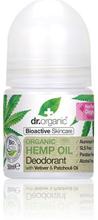Dr. Organic Deo Roll-on Hemp Oil (50 ml)