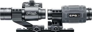 Walther - EPS3 Rødpunktsikte med 3x Forstørrelse