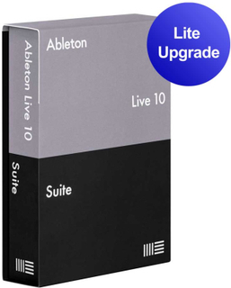 Ableton Live 10 Suite upgrade from Live Lite programvare