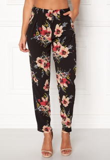 Rut & Circle Carina Flower Pant Black Combo S