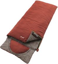 Outwell Contour Sleeping Bag ochre red Left 2019 Sovsäck