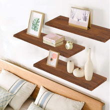 Wall Mounted Rustic Floating Shelves Wall Mount Display Rack Decoration Floating Shelves Rustic Wood Wall Shelf Home Storage