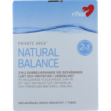 Natural Balance RFSU Intiimihygienia