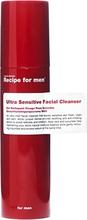 Recipe for Men Ultra Sensitive Facial Cleanser, 100 ml Recipe for men Ansiktsrengöring