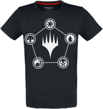 Magic: The Gathering - Mana -T-skjorte - svart