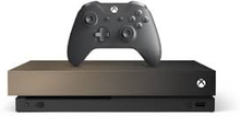 Xbox One X 1TB Gold Rush