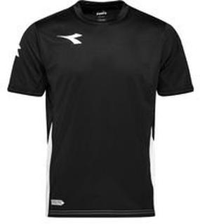 Diadora Trenings T-Skjorte Equipo - Sort/Hvit
