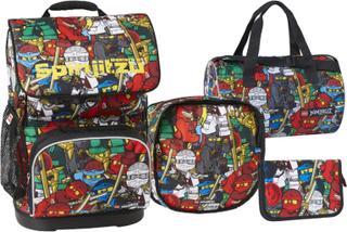 LEGO Ninjago Comic School Bag - LEGO Vesker Skolebag 20097-180