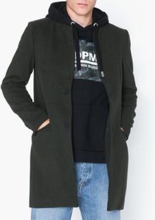 Only & Sons onsMAXIMILIAN Wool Trench Coat Otw Jakker & frakker Mørkegrøn