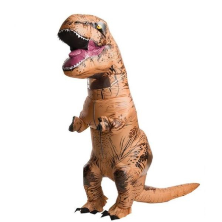 Oppblåsbar Dinosaur Kostyme
