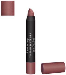 Isadora Twist-Up Matt Lips Läppstift Haute Chocolate