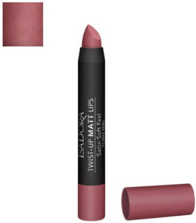 Isadora Twist-Up Matt Lips Läppstift Rose