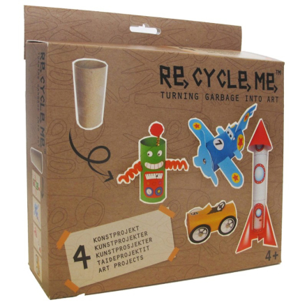Re-Cycle-MeToilet Roll I
