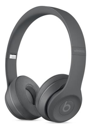 (99)Beats Solo3 Wireless On-Ear Asphalt Grey BT