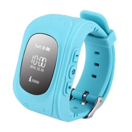 Sporingsklokke GPS Barn - Blå