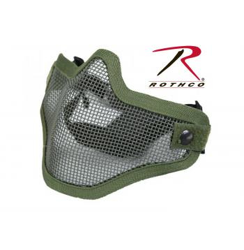 Bravo Strike - Grid Mask - Olive