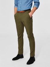 SELECTED Slhyard Slim Fit - Chinos Men Green