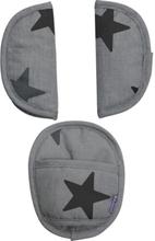 Universal Pads Grey Stars