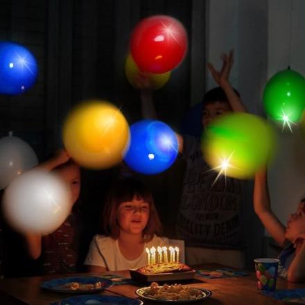 Ballonger med led lys pakke med 10