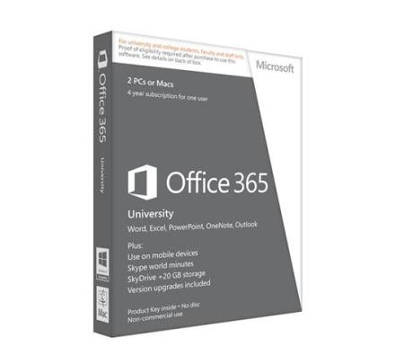 Office 365 University - 2 enheder | PC/Mac |