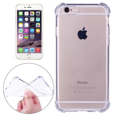 iPhone 6 Plus & 6s Plus deksel - Gjennomsiktig