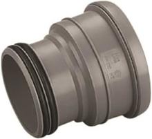 Wavin grå erstatningsmuffe 110 mm