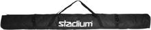 Stadium Alpine Skicover Laskettelutarvikkeet BLACK/BLACK