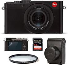 Leica D-Lux 7 Svart Startpaket (Svart väska), Leica