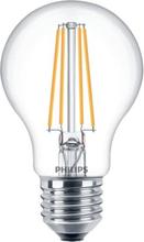 Philips Filament Standard LED 8W/827 (60W) E27 dimbar - Klar