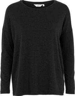 Basic Apparel Bluse, Jolene, Black