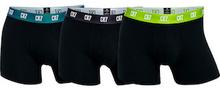 CR7 Trunk 3-pak Sort med Farvede Elastisk-Christiano Ronaldo Underwear
