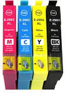 Paket 4st kompatibla patroner till Epson 29XL (C13T29964010)