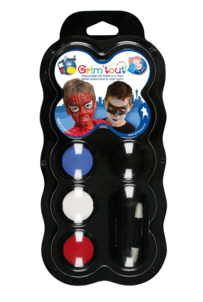 Grim Tout - 4 colour palette - Superheroes (41223)