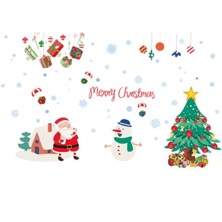 Vegg Klistremerke Julemotiv