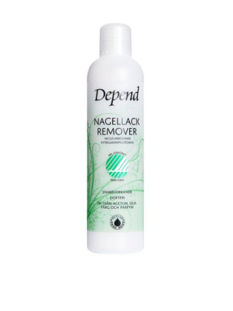Depend Nail Polish Remover - Miljömärkt 250ml