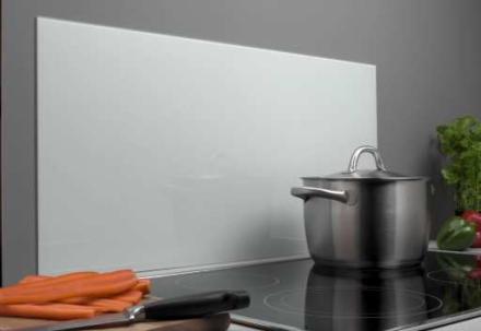 Millarco Veggplate Firkantet 600x300mm. Frostet herdet glass