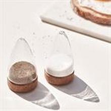 Salt & Peber Sæt af Kork - Glas