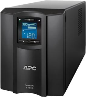 APC Smart-UPS C 1500VA LCD - UPS - AC 230 V - 900 Watt - 1500 VA - USB - utgångskontakter: 8 - svart - med APC SmartConnect