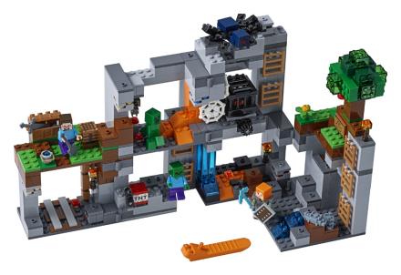 Klippeeventyret - Lego Minecraft 21147 - Eurotoys