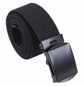 Rothco Nylon Web Belte - Sort