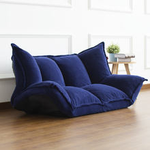 Floor Furniture Reclining Japanese Futon Sofa Bed Modern Folding Adjustable Sleeper Chaise Lounge Recliner For Living Room Sofa